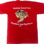 Red Short Sleeve Tornado T-Shirt