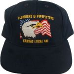 Navy Eagle Ball Cap