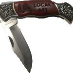 Knife Rosewood Chrome