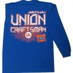 Royal Blue Long Sleeve Union T-Shirt